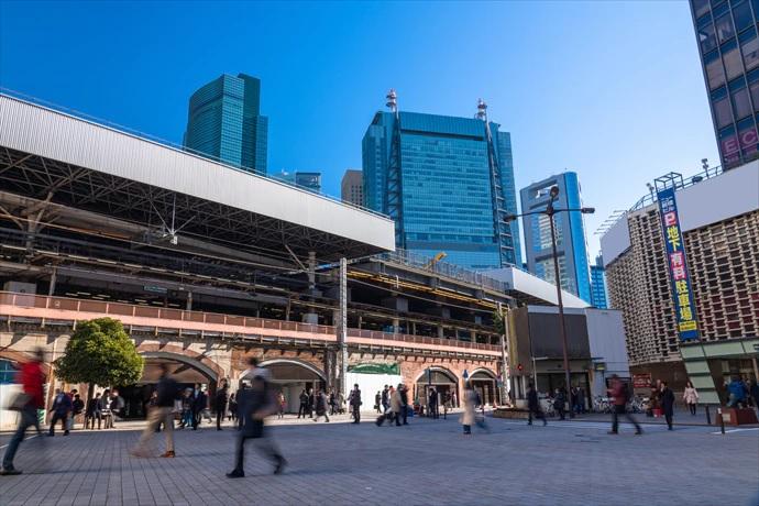 新橋駅前商業ビル(土地付き)