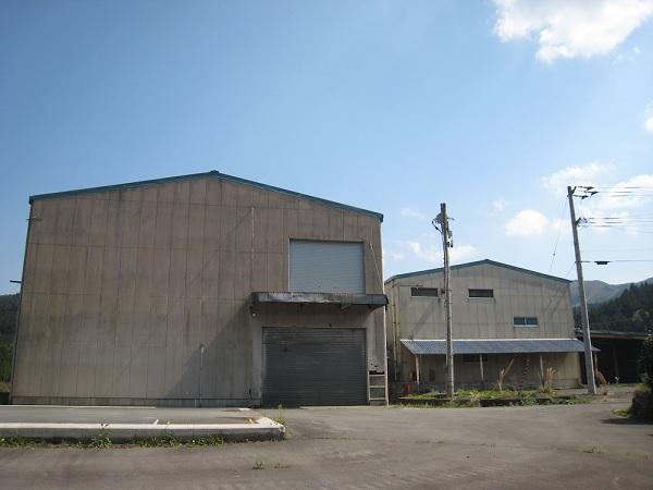 【岡山県】空き工場と倉庫(土地660坪)不動産譲渡